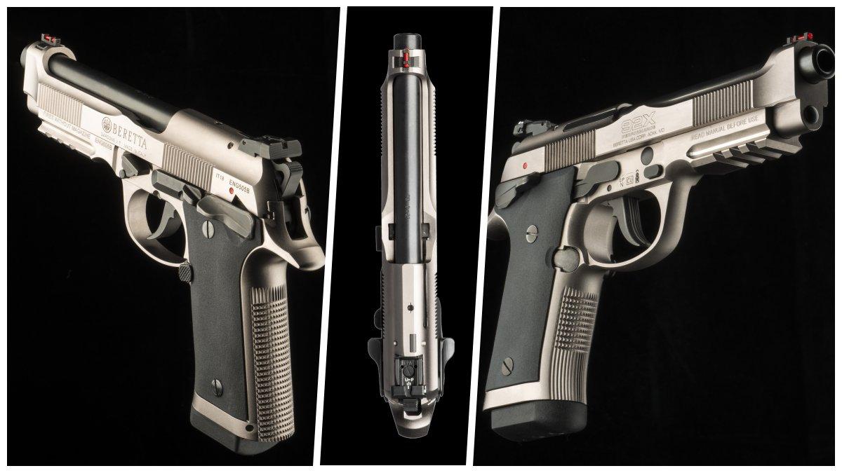 Beretta-debuts-new-steel-framed-92X-model-pistol-VIDEOS